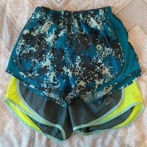 Bundle of 2 Nike Athletic Shorts